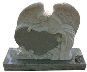 angel special shape monument